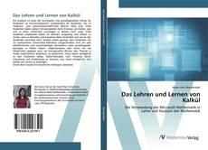Das Lehren und Lernen von Kalkül kitap kapağı