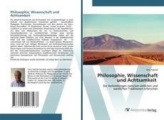 Copertina di Philosophie, Wissenschaft und Achtsamkeit