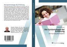 Buchcover von Die Epistemologie der Erfahrung