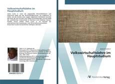 Capa do livro de Volkswirtschaftslehre im Hauptstudium
