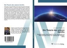 Die Theorie des solaren Zeniths的封面