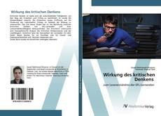 Bookcover of Wirkung des kritischen Denkens