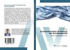 Bookcover of Zusammenarbeit im Bereich der Kriminalpolitik