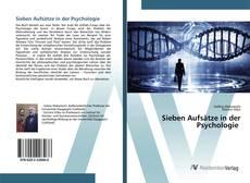 Buchcover von Sieben Aufsätze in der Psychologie
