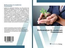 Bookcover of Risikoanalyse im modernen Finanzwesen
