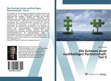 Die Grenzen einer nachhaltigen Partnerschaft. Teil V kitap kapağı
