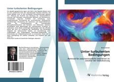 Capa do livro de Unter turbulenten Bedingungen