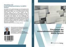 Bookcover of Simulation der Unternehmensarchitektur im ADOit-System