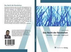 Capa do livro de Das Recht der Revolution