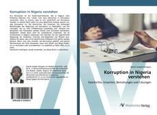 Portada del libro de Korruption in Nigeria verstehen