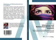Bookcover of Islamismus und Nationalsozialismus im Vergleich