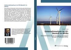 Обложка Unternehmertum im EE-Bereich in Afrika