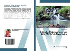 Bookcover of Kritische Untersuchung von Gita Mehta's A River Sutra