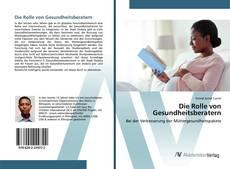 Bookcover of Die Rolle von Gesundheitsberatern