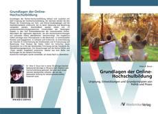 Capa do livro de Grundlagen der Online-Hochschulbildung