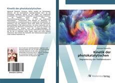Bookcover of Kinetik der photokatalytischen
