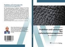 Bookcover of Praktiken und Leistungen des Lieferkettenmanagements
