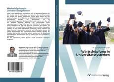 Couverture de Wertschöpfung in Universitätssystemen