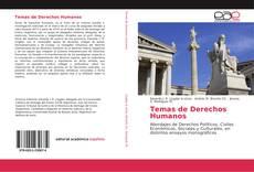 Buchcover von Temas de Derechos Humanos