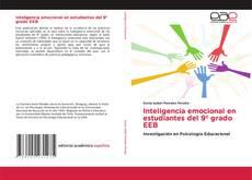 Capa do livro de Inteligencia emocional en estudiantes del 9º grado EEB