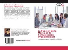Capa do livro de La Función de la Marca en la Comunicación Organizacional