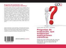 Bookcover of Preguntas de evaluación, que evidencian explicaciones científicas