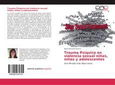 Capa do livro de Trauma Psíquico en violencia sexual niñas, niños y adolescentes
