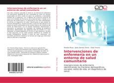 Portada del libro de Intervenciones de enfermería en un entorno de salud comunitario