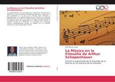 Portada del libro de La Música en la Filosofía de Arthur Schopenhauer