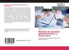Buchcover von Modelo de Gestión Administrativa y Financiera
