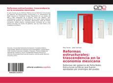 Обложка Reformas estructurales: trascendencia en la economia mexicana