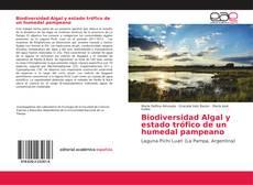 Portada del libro de Biodiversidad Algal y estado trófico de un humedal pampeano