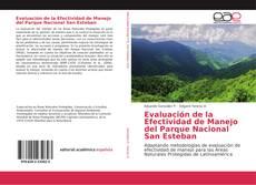 Bookcover of Evaluación de la Efectividad de Manejo del Parque Nacional San Esteban