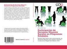Buchcover von Participación de Personas Mayores Rurales en Programas Estatales