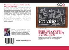 Bookcover of Educación y Valores: material docente para el profesorado