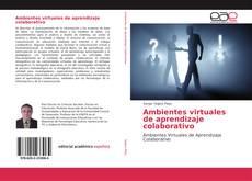 Обложка Ambientes virtuales de aprendizaje colaborativo