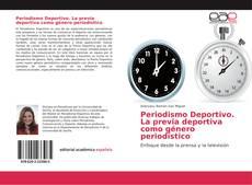 Capa do livro de Periodismo Deportivo. La previa deportiva como género periodístico