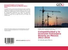 Обложка Competitividad y la Inversión Extranjera Directa en México 2011-2016