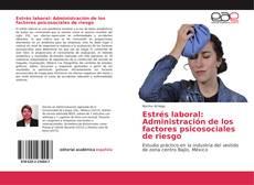 Portada del libro de Estrés laboral: Administración de los factores psicosociales de riesgo