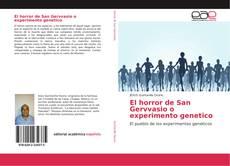 El horror de San Gervvasio o experimento genetico kitap kapağı