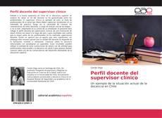 Bookcover of Perfil docente del supervisor clínico