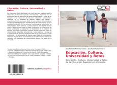 Обложка Educación, Cultura, Universidad y Retos