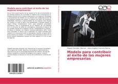 Copertina di Modelo para contribuir al éxito de las mujeres empresarias