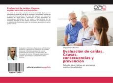 Capa do livro de Evaluación de caídas. Causas, consecuencias y prevencion