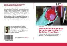 Обложка Estudio taxonómico de Aeromonas móviles y Salicina Negativas
