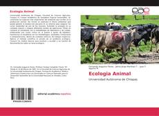 Bookcover of Ecologia Animal
