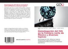 Homologación del IVA en la frontera norte de México y diversos topicos kitap kapağı
