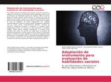 Bookcover of Adaptación de instrumento para evaluación de habilidades sociales