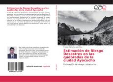 Portada del libro de Estimación de Riesgo Desastres en las quebradas de la ciudad Ayacucho