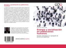 Capa do livro de Energía y socialización en poblaciones humanas